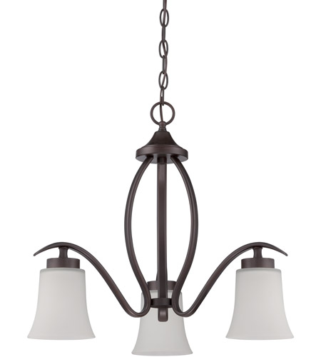 Craftmade 38323-ABZ Northlake 3 Light 22 inch Aged Bronze Brushed Down Chandelier Ceiling Light photo