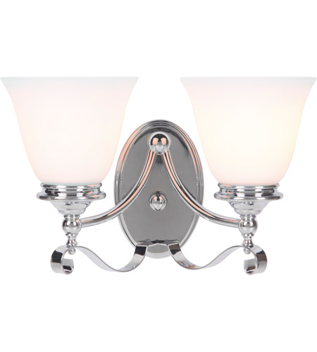 Craftmade 39802 Ch Chelsea 2 Light 14 Inch Chrome Vanity Light Wall Light Jeremiah