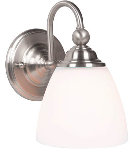 Brushed Polished Nickel Wall Sconces