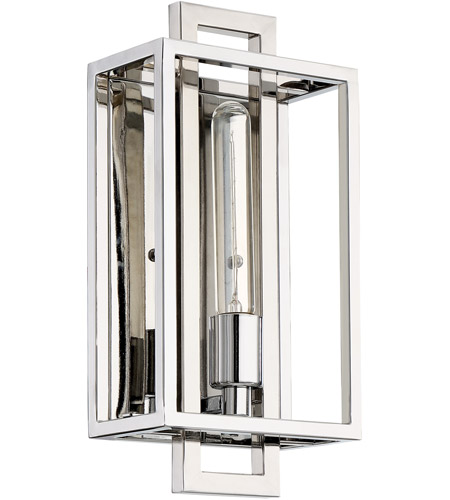 Craftmade 41561 CH Cubic 1 Light 7 Inch Chrome Wall Sconce Wall Light Photo
