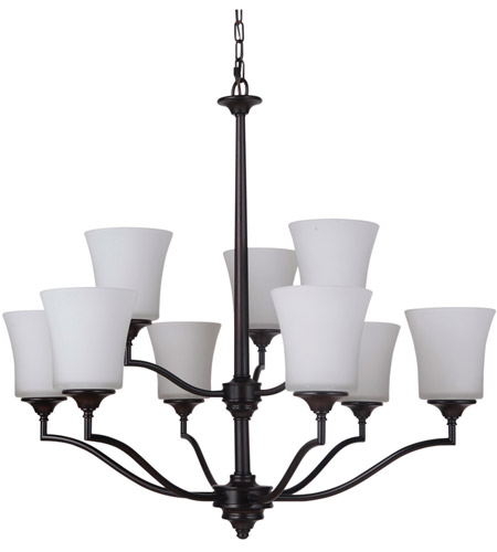 Craftmade 41729-OB Helena 9 Light 31 inch Oiled Bronze Chandelier Ceiling Light, Jeremiah photo