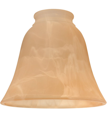 Craftmade 635AMA Signature Amber Alabaster Fan Glass, Bell photo