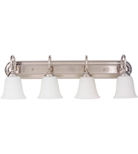 Craftmade 7132BNK4-WG Cecilia 4 Light 32 inch Brushed Satin Nickel ...