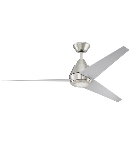 Craftmade aca56bnk3 acadian 56 inch brushed polished nickel with craftmade aca56bnk3 acadian 56 inch brushed polished nickel with brushed nickel blades ceiling fan blades included aloadofball Choice Image