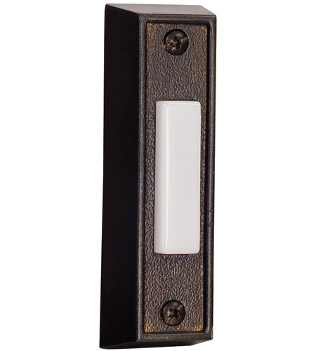 Craftmade BS6-BZ Signature Bronze Lighted Push Button, Rectangle photo