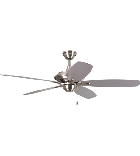Craftmade cn52ss5 copeland 52 inch stainless steel indoor ceiling craftmade cn52ss5 copeland 52 inch stainless steel indoor ceiling fan in white frosted glass aloadofball Choice Image