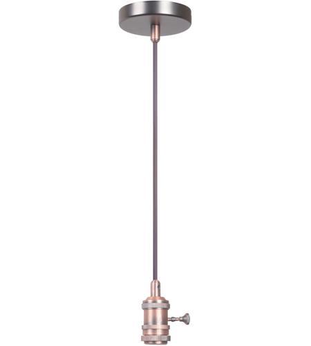Design A Fixture Brushed Copper Mini Pendant Hardware In 1