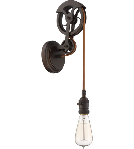 Craftmade CPMKPW-1ABZ Design-A-Fixture Aged Bronze Brushed Pulley ...