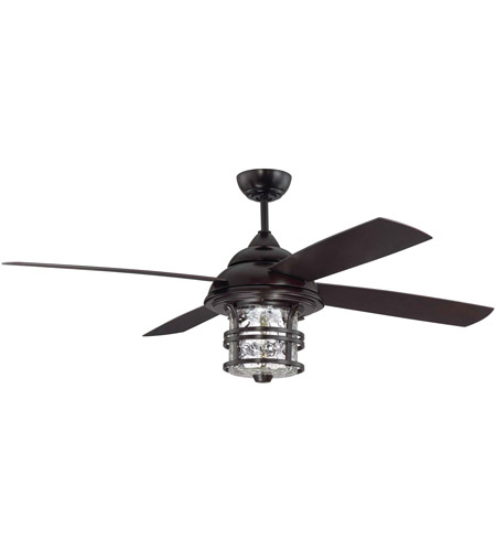 Craftmade Cyd56ob4 Courtyard 56 Inch Oiled Bronze Outdoor Ceiling Fan Blades Included