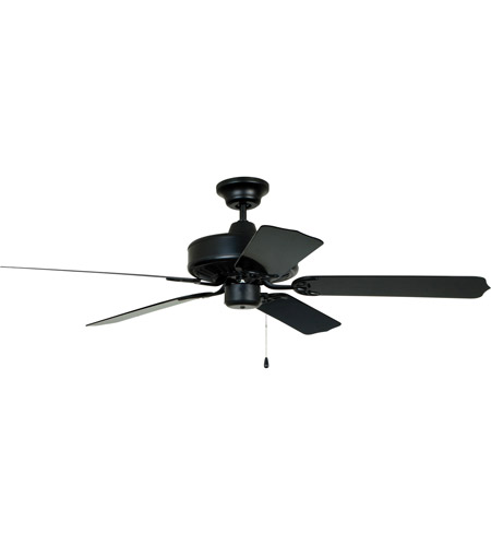 Craftmade End52mbk5p Enduro 52 Inch Matte Black Ceiling Fan Blades Included