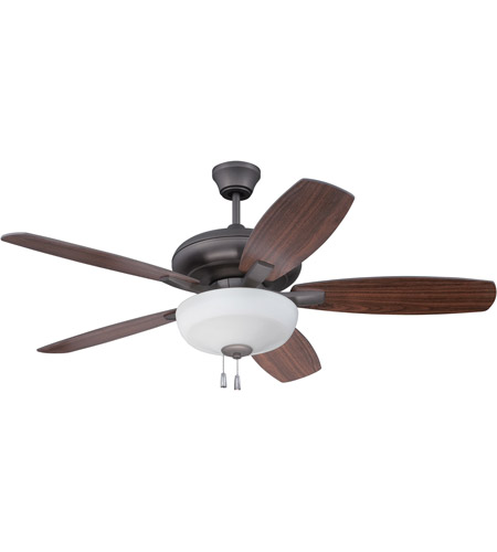 Craftmade fza52esp5c1 forza 52 inch espresso with reversible craftmade fza52esp5c1 forza 52 inch espresso with reversible espresso and walnut blades ceiling fan blades included aloadofball Images