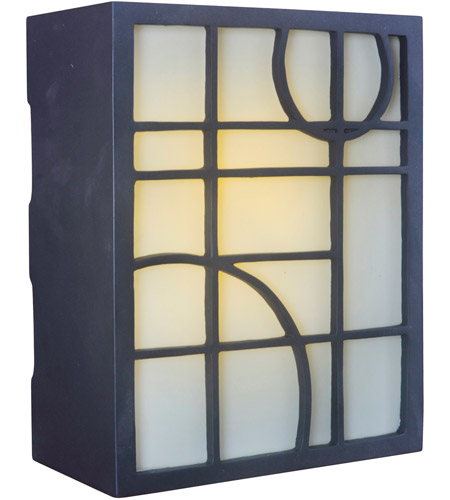 Bon Craftmade ICH1660 OB Geometric Oiled Bronze Illuminated Chime In Frosted  Photo