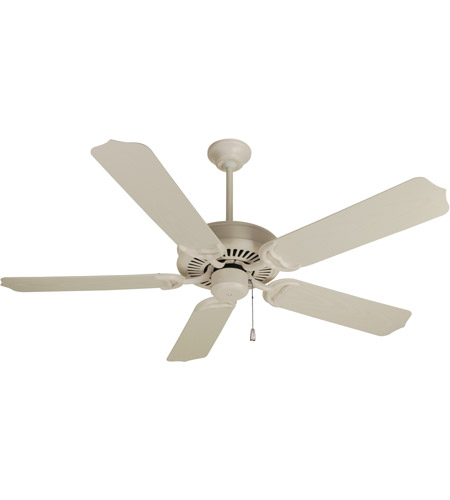 Porch 52 Inch Antique White Outdoor Ceiling Fan Kit In Outdoor Standard Antique White 52