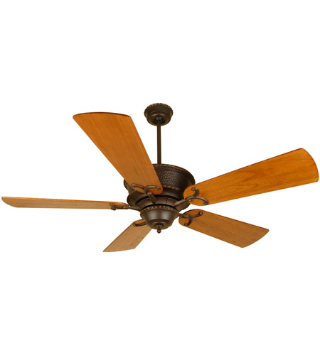 Big As Fan >> Riata 54 Inch Aged Bronze Textured With Distressed Teak Blades Ceiling Fan Kit In Light Kit Sold Separately Premier Distressed Teak