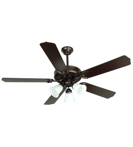Craftmade K10423 Pro Builder 205 52 Inch Oiled Bronze Ceiling Fan Kit In Contractor Standard Blades Included