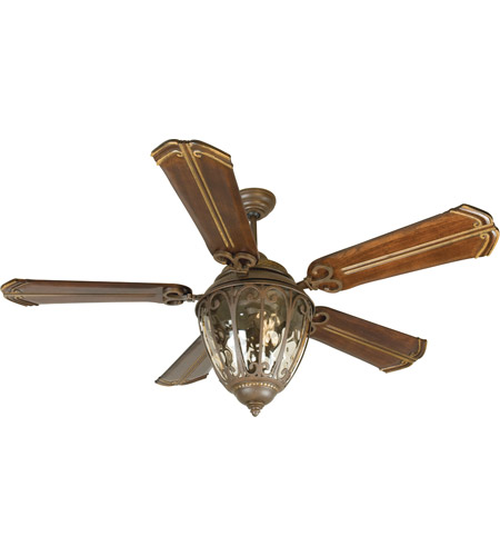 Amazing Craftmade K10523 Olivier 70 Inch Aged Bronze Textured With Walnut Blades Ceiling  Fan Kit In Chamberlain Walnut, Custom Carved, Blades Included