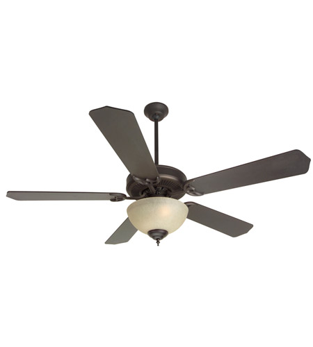 Craftmade K10629 Pro Builder 202 52 inch Oiled Bronze Ceiling Fan Kit in Contractor Standard, Blades Included photo