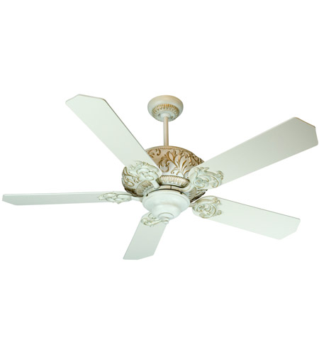 Craftmade K10727 Ophelia 52 inch Antique White Distressed with Antique White Blades Ceiling Fan Kit in Standard Antique White photo