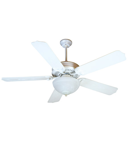 Craftmade k10738 porch 52 inch white outdoor ceiling fan kit in craftmade k10738 porch 52 inch white outdoor ceiling fan kit in outdoor standard 0 alabaster glass blades included aloadofball Image collections