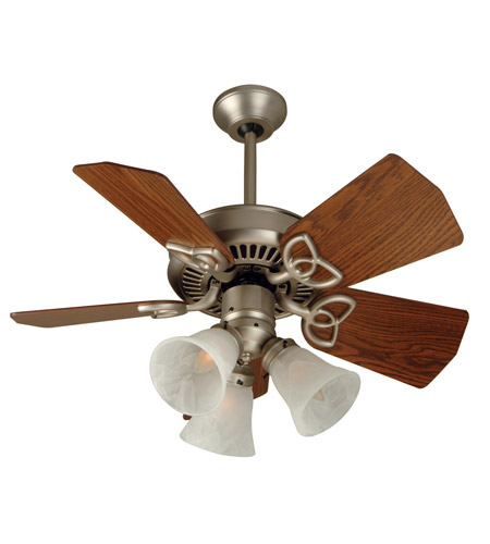 Craftmade k10740 piccolo 30 inch brushed satin nickel with dark oak craftmade k10740 piccolo 30 inch brushed satin nickel with dark oak blades ceiling fan kit in alabaster swirl glass blades included mozeypictures Images