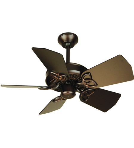 Craftmade K10741 Piccolo 30 Inch Oiled Bronze Ceiling Fan Kit In Light Sold Separately Blades Included
