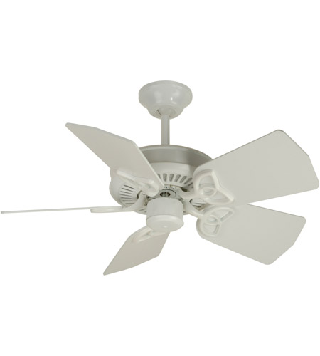 Craftmade K10743 Piccolo 30 inch White Ceiling Fan Kit in Light Kit Sold Separately, Blades Included photo