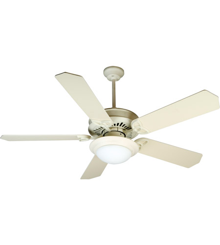 Craftmade k10787 american tradition 52 inch antique white ceiling craftmade k10787 american tradition 52 inch antique white ceiling fan kit in mdf blades standard 0 cased white glass blades included aloadofball Choice Image