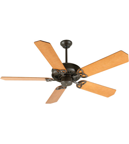 Oak Ceiling Fans With Lights : Craftmade k american tradition inch aged bronze