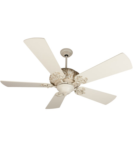 Craftmade K11151 Ophelia 54 inch Antique White Distressed with Antique White Blades Ceiling Fan Kit in Premier Antique White photo