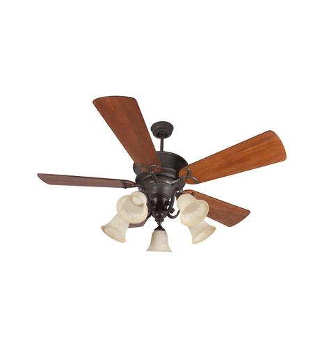 Big As Fan >> Riata 54 Inch Aged Bronze Textured With Distressed Teak Blades Ceiling Fan Kit In Antique Scavo Glass Premier Distressed Teak Blades Included