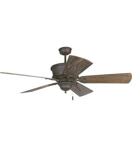 Big As Fan >> Riata 54 Inch Aged Bronze Textured With Rustic Dark Oak Blades Ceiling Fan Kit In Light Kit Sold Separately Premier Rustic Dark Oak