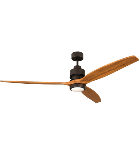 Craftmade K11259 Sonnet 52 inch Espresso with Light Oak Blades Ceiling Fan Kit photo