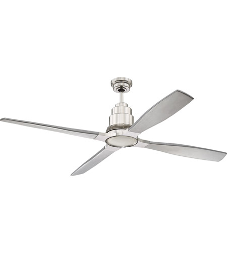 Craftmade Polished Nickel Indoor Ceiling Fans
