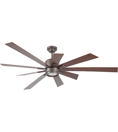Craftmade KAT72ESP9 Katana 72 inch Espresso with Walnut Blades Ceiling Fan, Blades Included  photo