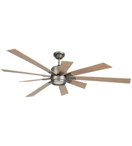 craftmade kat72pt9 katana 72 inch pewter ceiling fan in blades sold separately