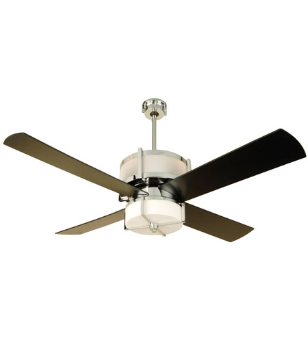 Craftmade MO56CH4 Midoro 56 inch Chrome Indoor Ceiling Fan in ...