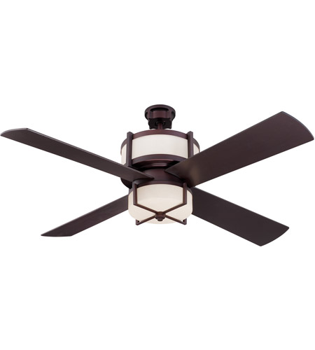 Craftmade mo56ob4 wg midoro 56 inch oiled bronze ceiling fan in craftmade mo56ob4 wg midoro 56 inch oiled bronze ceiling fan in white frosted glass blades included aloadofball Image collections