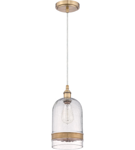 Craftmade P455AGC1 Signature 1 Light 6 inch Aged Copper Mini Pendant Ceiling Light in Clear Glass photo