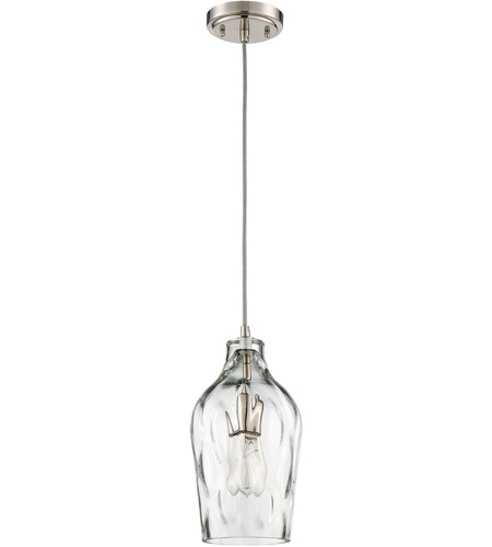 Craftmade P725BNK1 Signature 1 Light 7 inch Brushed Polished Nickel Mini Pendant Ceiling Light photo