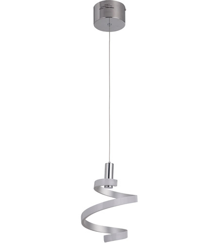 Craftmade p816msch led signature led 8 inch matte silver and chrome craftmade p816msch led signature led 8 inch matte silver and chrome mini pendant ceiling light aloadofball Choice Image