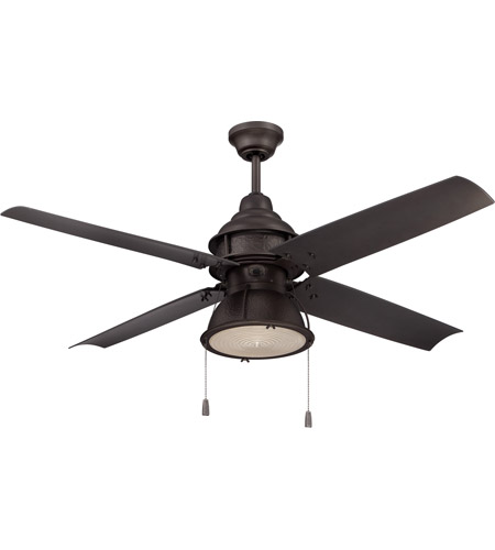 Craftmade PAR52ESP4 Port Arbor 52 inch Espresso Ceiling Fan, Blades Included photo