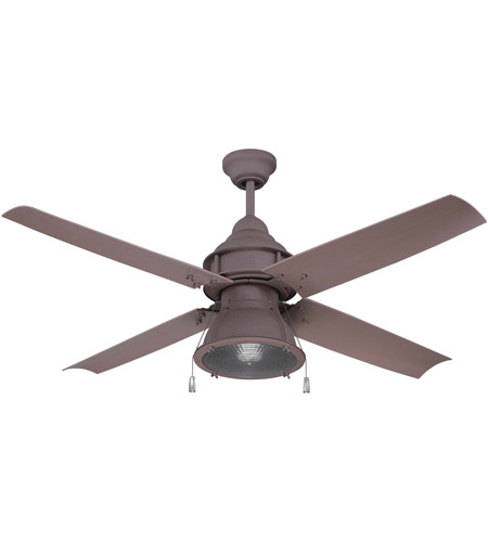 rustic ceiling fan blades vintage craftmade par52ri4 port arbor 52 inch rustic iron ceiling fan blades included fan