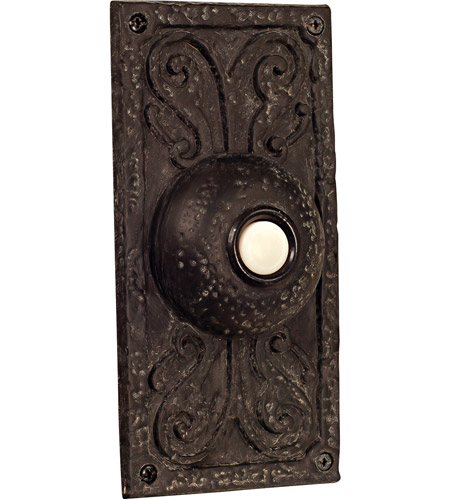 Craftmade PB3037-WB Designer Weathered Black Lighted Push Button photo