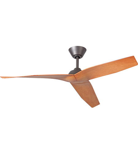 Craftmade PIR48ESP3 Pireos 48 inch Espresso with Teak Blades Ceiling Fan, Blades Included photo thumbnail
