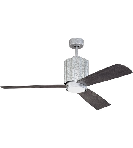 Craftmade pnr52gv3 pioneer 52 inch galvanized steel with greywood craftmade pnr52gv3 pioneer 52 inch galvanized steel with greywood blades ceiling fan blades included aloadofball Choice Image