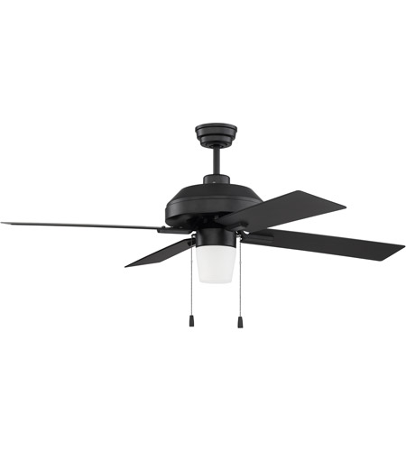 Craftmade sb52fb4 south beach 52 inch flat black ceiling fan blades craftmade sb52fb4 south beach 52 inch flat black ceiling fan blades included mozeypictures Image collections