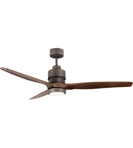 Craftmade SON52ESP-60WAL Sonnet 60 inch Espresso with Walnut Blades Ceiling Fan Kit photo
