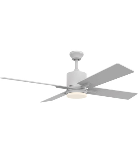 Craftmade tea52w4 teana 52 inch white with reversible white blades craftmade tea52w4 teana 52 inch white with reversible white blades ceiling fan blades included aloadofball Images