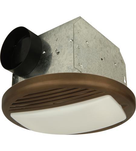 Craftmade TFV50L-BZ Builder 12 inch Bronze Bath Exhaust Fan in 50 ...