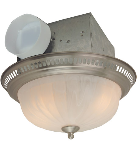 Craftmade Tfv70l Dss Decorative 14 Inch Stainless Steel Bath Exhaust Fan With Light Photo